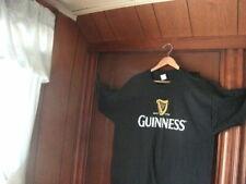 Guinness T-Shirt Size XL Black brand new Condition 100% heavy duty cotton FOTL