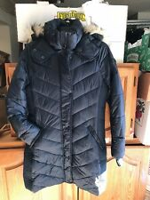 NEW Woman's Navy Abercrombie & Fitch Quilted Parka NAVY SIZE M