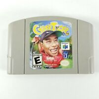 CyberTiger Cyber Tiger (Nintendo 64, N64, 2000) Cartridge Only Authentic