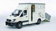 Bruder 02533 Mercedes Benz Sprinter Tiertransporter inklusive Pferd