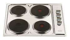 Nardi CH04X 60cm Stainless Steel Electric Cooktop