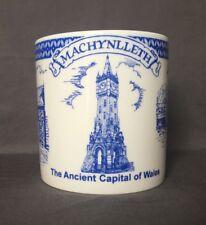 Bone China 18fl Oz Welsh Souvenir Machynlleth Mug Hand Decorated (Almost A Pint)