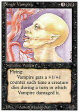 4 Sengir Vampire ~ Heavily Played 3rd Edition 4x x4 Playset MTG Magic Black Card
