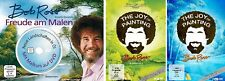 5 DVDs * BOB ROSS - FREUDE AM MALEN (+BUCH) + JOY OF PAINTING SET # NEU OVP WVG