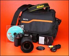 Cámara SLR Nikon D3200 D + Nikon AF-S 18-55mm VR zoom kit de lente-Batería y Cargador