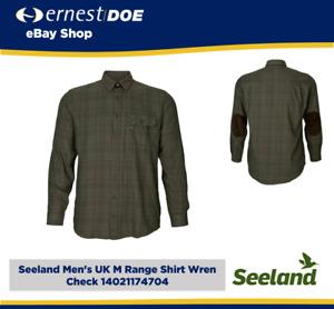 Seeland Men's UK M Range Shirt Wren Check 14021174704