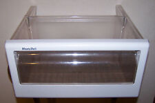 GE Refrigerator MEAT / DELI PAN - OEM WR32X1459 - SMALL DEFECT