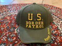 VINTAGE BORDER CONTROL RAPID DOMINANCE BASEBALL CAP HAT STRAPBACK MILITARY NEW