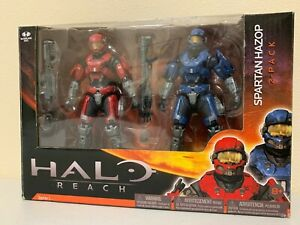 McFarlane Toys Halo Reach Series 1 Spartan Hazop 2-Pack with box