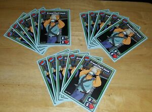 Lot Of (15) Animation Throwdown Quest Cards King Of The Hill Grand Theft Hank