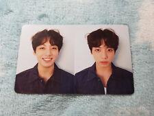 10)BTS Bangtan Boys LOVE YOURSELF Fake Love Jungkook 'R' Ver. PhotoCard K-POP