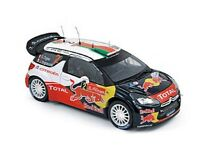 NOREV 181551 181555 181556 CITROEN model rally cars Loeb / Elena / Ogier 1:18th