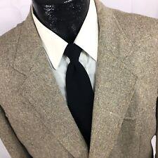 Vtg Luskeys DONEGAL TWEED Sport Coat COWBOY WESTERN Jacket SHOOTING Blazer 44 R