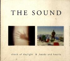 THE SOUND Shock of Daylight & Heads and Hearts CD Ottime Condizioni