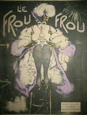 REVUE LE FROU-FROU N° 329 DESSINS COUV. ANN'TON ZYG CARDONA SANDY HOOK  1907
