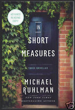 SIGNED In Short Measures Strong Conspirators Sally Forth by Michael Ruhlman ARC