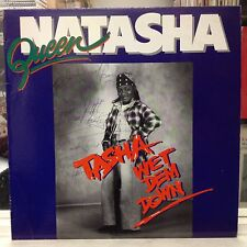"NM LP~QUEEN NATASHA~Tasha Wet Dem Down~[Signed By ""MR NAPPY""]~{STRAKER'S Issue]~"