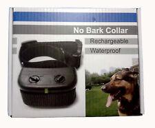 NEW Waterproof Rechargeable Small MEDIUM Anti Bark No Barking Dog Shock Collar