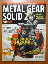 Guía y Libro de rutas Metal Gear Solid 2 + MGS 1 PS1 PS2 PS3 PSVita XBOX 360 PC