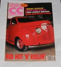 CUSTOM CAR MAGAZINE FEBRUARY 1992 RED HOT 'N' ROLLIN'/INSIDE NASCAR