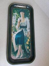 1921 REPRO Coca Cola GIBSON GIRL COKE 1973 METAL TRAY rectangle 43 years old
