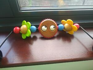 Baby bjorn Googly Eyes wooden toy bar