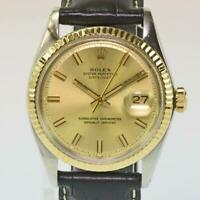 Herren Rolex Oyster Perpetual Datejust Stahl-Gold Automatic Ref. 1601