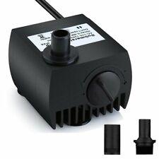 Pompe Eau Submersible Aquarium Pump Ajustable 300L/H 3W Ultra-silencieux
