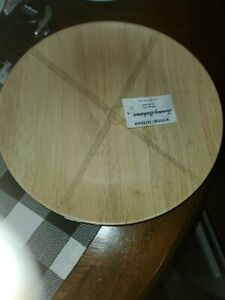 NWT Tommy Bahama 4PC Wood Look Melamine Dinner Plates-  Casual Outdoor Dining