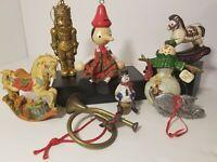 Christmas Ornaments Lot HG10