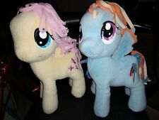 "My Little Pony Rainbow Dash and Fluttershy Butterfly 12"" Plush"