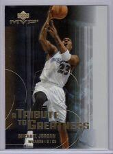 Michael Jordan 2003 Upper Deck MVP A Tribute to Greatness Card #MJ4