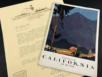 1924 All Year Club of Southern California Book Pictures Map Travel Advertising