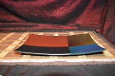 """Ceramic Rectangle Multi-Color  Serving Tray Platter Candle Holder 10""""x6 3/4"""""""