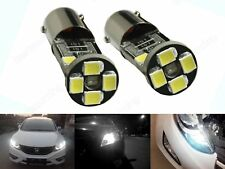2x BAX9S H6W 433 434 Bulbs 5W LED Side Light Driving Lamps DRL Canbus No Error