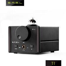 SMSL T1 32bit/384kHz DSD512 Integrated Tube Headphone Amplifier Decoder DAC AMP