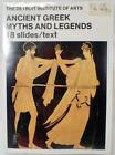 Vtg. Detroit Institute Of Arts Ancient Greek Myths and Legends 18 Slides & Text