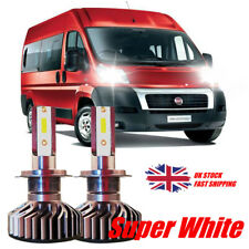 FOR FIAT DUCATO 2006+ LED Headlight Kit set 2x H7 Bulbs PURE WHITE
