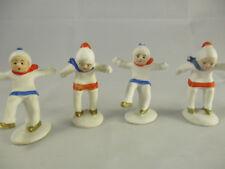 Vintage Germany Four Skater Figurines