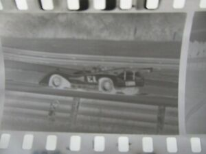 10 strips of 4 Vintage  Race Negatives racing 60's / 70's MID OHIO Raceway