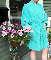 3e788fa7d7 Terry Cloth Kimono Bathrobe Mirko Spa Quality Robe 7 Colors SM-XXL ...
