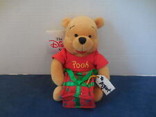 "Disney Store Uk Euro Exclusive Babies First Pooh Bean Bag Plush 8"" Nwt Retired"