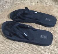 NWOT Teva Olowahu Sandal Women's 9 Black Strap