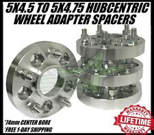 "5x4.5 To 5x4.75 Wheel Adapters Hubcentric 5x114.3 To 5x120 1 Inch 25mm 1/2""-20"
