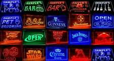 Neon Light Sign Beer Pub Bar