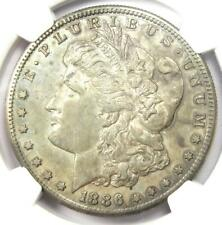 1886-S Morgan Silver Dollar $1 - NGC AU55 - Rare Date in AU55 - Nice Luster!