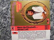 Musikkassette James Last / Wenn die Elisabeth… - Album 1972