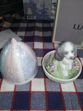 Lladro surprise puppy dog egg no box