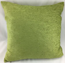 "Sage Green Chenille Type LARGE 19.5""x19.5"" Evans Lichfield Cushion Cover"