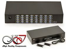 SPLITTER VGA 32 ports 350MHz - Image d'un PC vers 16 ecrans
